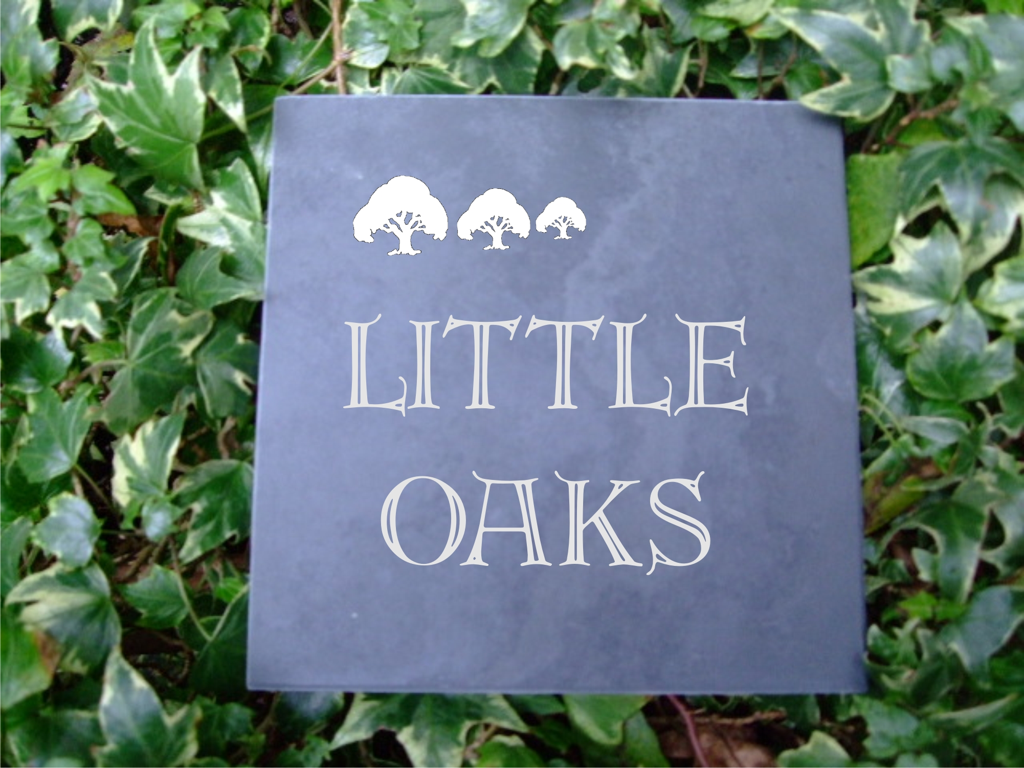 slate budget house signs gallery hand made signs. Black Bedroom Furniture Sets. Home Design Ideas