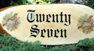 Wooden House Sign 16""