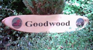 Wooden House Sign 13""