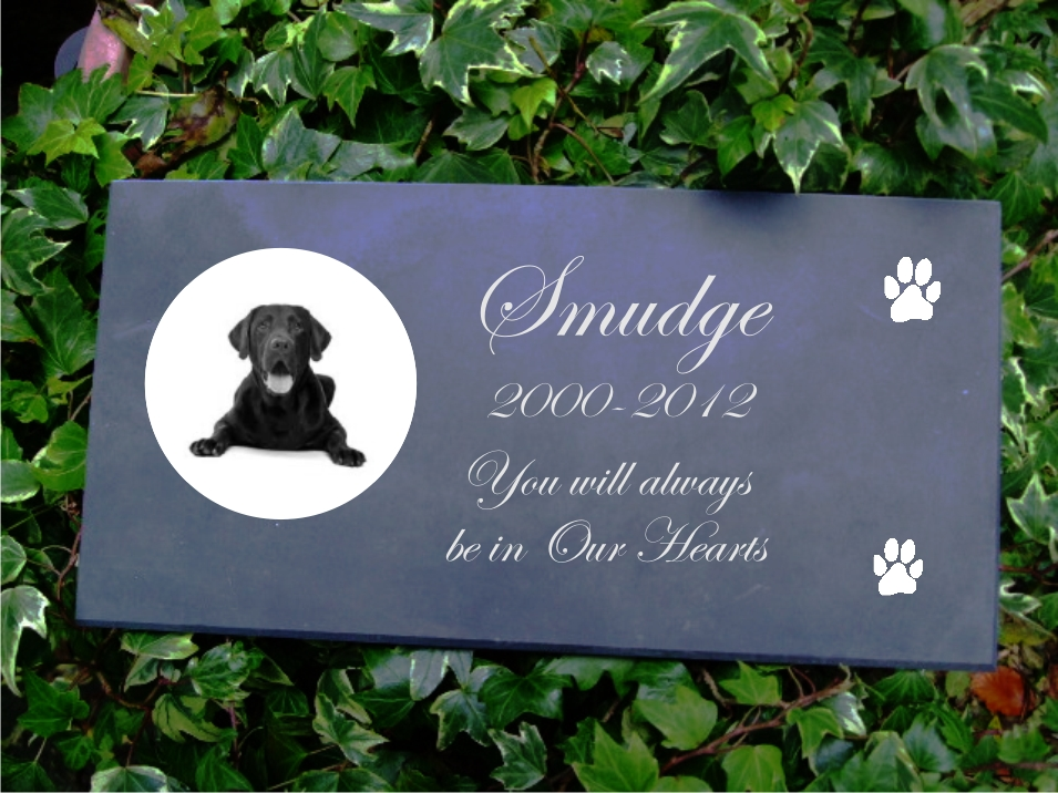 Budget Slate Pet Memorial Gallery Hand Made Signs